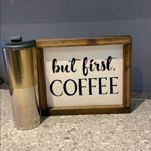 BNWT Starbucks Venti Coffee Traveller